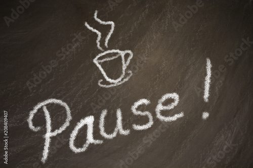 Pausa para el cafe