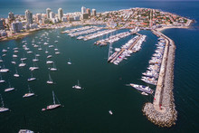 Aerial View Of Marina Of Punta...