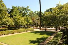 Im Maria Luisa Park In Sevilla