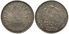 Mexico Mexican Silver Coin 1 O...