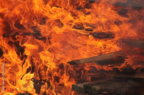 In de dag Vuur / Vlam fire I