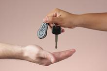 4903976 Giving Car Keys