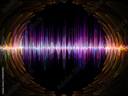 Fototapeta  Vibrant Oscillation