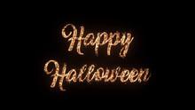 Happy Halloween Greeting Text ...