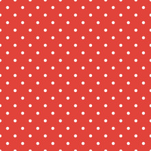 Red Polka Dot Seamless Pattern...