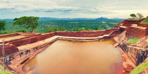 Foto op Plexiglas Asia land Sigiriya rock. Panorama