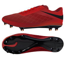 Red Football Boots Isolated On...