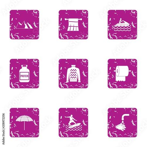 Fotografía  Equatorial icons set