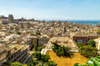 View of Genoa, cityscape of historical centre and the port