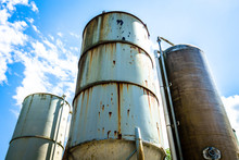 Old Silo Tanks