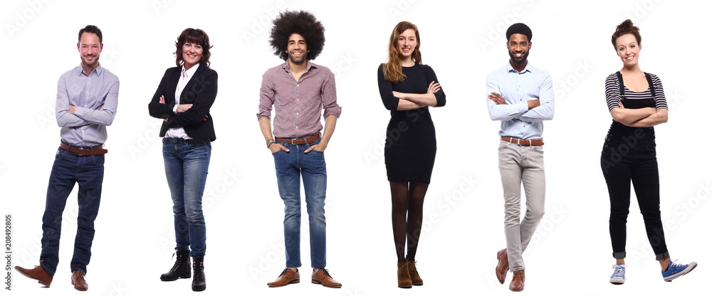 Fototapeta Group of people