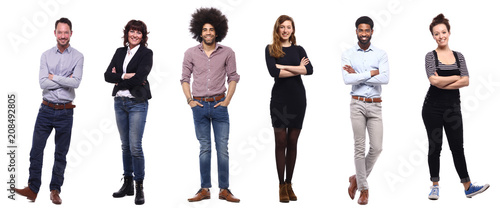 Vászonkép Group of people
