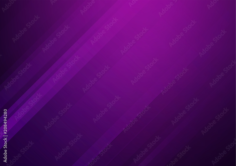 Fototapety, obrazy: Abstract purple vector background with stripes
