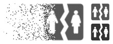 Dispersed Divorce Dotted Icon ...