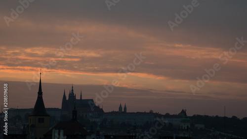 Photo  Prague Sunset