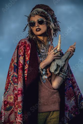 Poster Gypsy magnificent gypsy girl