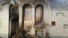 Zerbombte Moschee In Shingal-Stadt