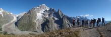 Alpy, Włochy, Tour Du Mont Bl...
