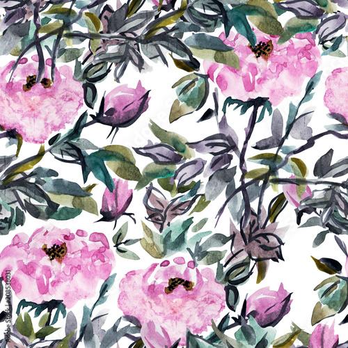 kwiaty-piwoni-recznie-malowane-akwarela