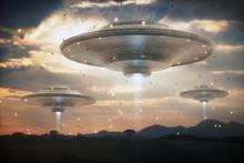 Extraterrestrial UFO Spacecraf...