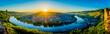 Leinwanddruck Bild Moseltal - Germany