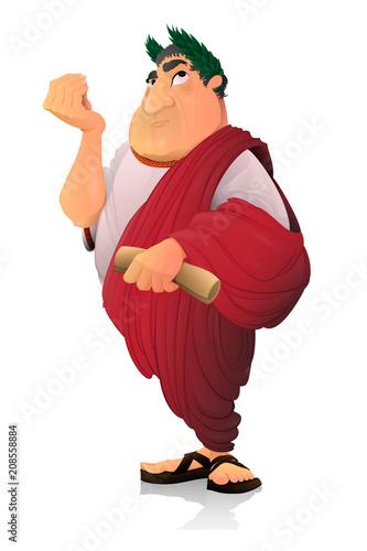 Fotografía Caesar, Roman Senator.