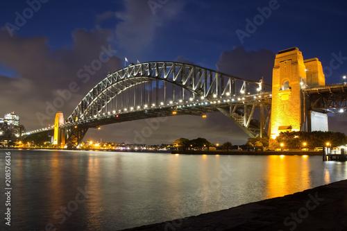 Foto op Plexiglas Sydney Australien, Sydney, Harbour Bridge