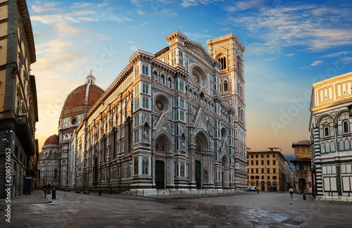 Photo sur Toile Florence Florence at sunrise