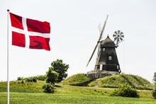 Windmühle In Dänemark