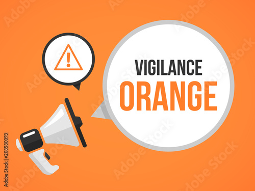 Photo vigilance orange