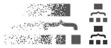 Gray Vector Scheme Icon In Dis...