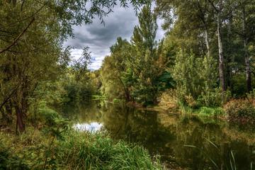 Fototapeta Rzeki i Jeziora Landscape. River View.
