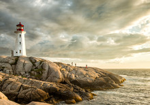 Sunset Photos At Peggy's Cove