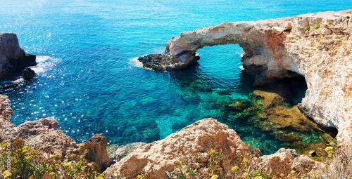Foto op Plexiglas Cyprus Panorama of a natural landmark Love Bridg