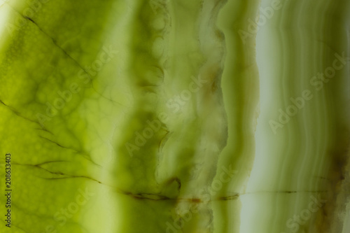 Canvas Prints Marble Spectacular onyx background in contrast green colour.