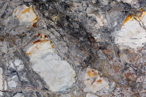 Strict marble background in adorable grey tone.