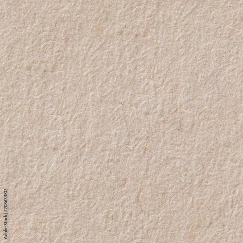 Elegant Light Paper Texture In Beige Hue Seamless Square Background