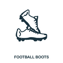 Football Boots Icon. Mobile Ap...