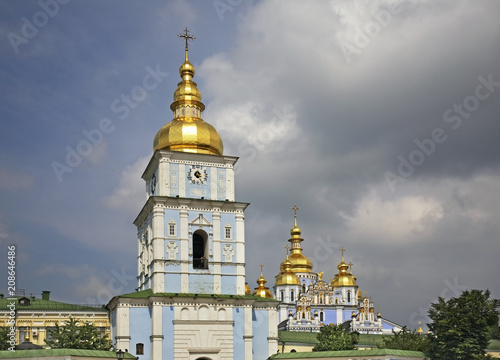Golden-Domed Monastery of St. Michael in Kiev. Ukraine