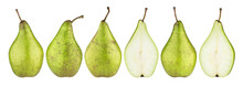 Green Conference Pears Isolate...
