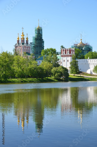 Plakat Novodevichiy Convent, Moskwa