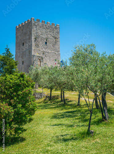 Cicero's Tower in Arpino, ancient town in the province of Frosinone, Lazio, central Italy Wallpaper Mural
