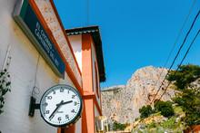 Railway Station In The Village...
