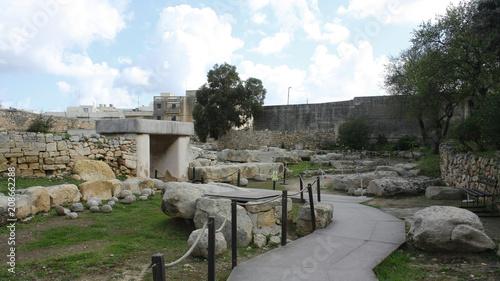 Templos de Tarxien, Tarxien, Malta Canvas Print