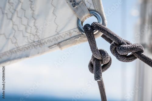 Deurstickers Zeilen rejs żeglarstwo tło