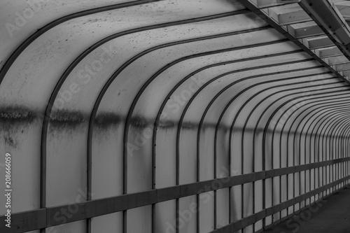 Canvas Prints Bridge Footbridge in Cambridge, UK