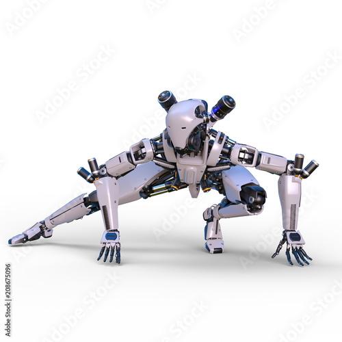 Cuadros en Lienzo 戦闘ロボット