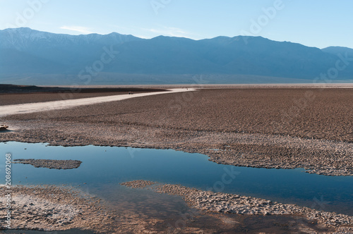 Photographie  Badwater in Death Valley National Park