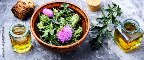 Photo  Natural herbal medicine