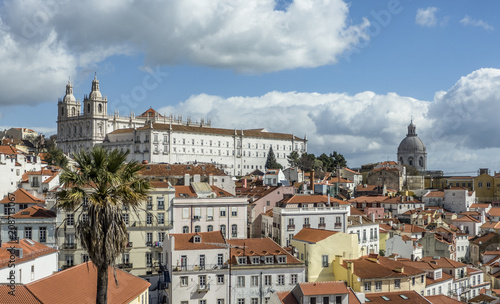 Lisbon City, Portugal Canvas Print